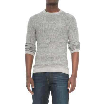 Michael Stars Ribbed Stitch Sweater (For Men) in Grey/Grey - Closeouts