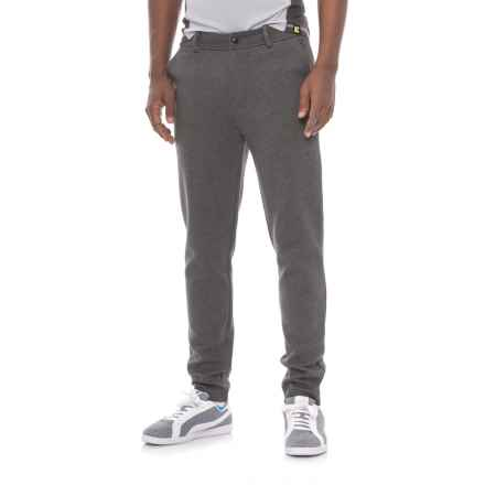 Michael Stars Slim Fit Trousers (For Men) in Charcoal - Closeouts