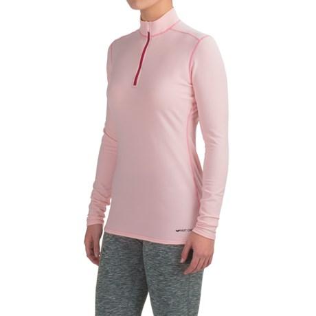 Micro-Elite XT Base Layer Top - Zip Neck, Long Sleeve (For Women) thumbnail