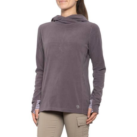 Microchill Lite Hoodie (For Women) - PURPLE DUSK (S )