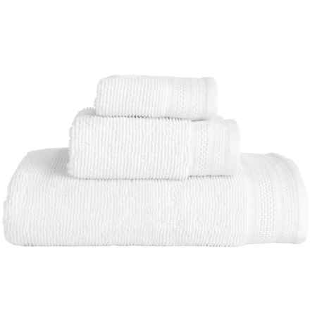MicroLush by Laura Hill Cotton Quick-Dry Towels - Set of 3 in White - Overstock