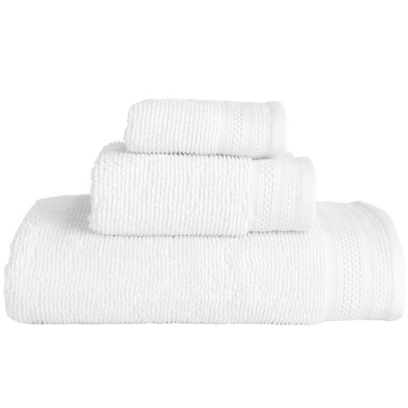 MicroLush by Laura Hill Cotton Quick-Dry Towels - Set of 3