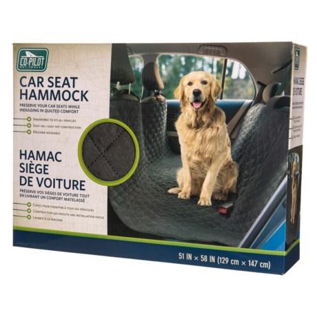 Microsuede Car Seat Pet Hammock - 51x58?