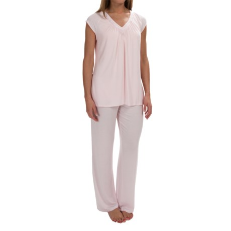 Midnight by Carole Hochman Core Modal Pajamas Short Sleeve (For Women)