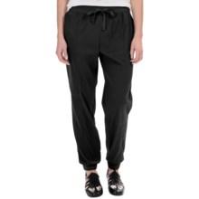 Midnight by Carole Hochman Pinstripe Lounge Pants (For Women) in Black - Overstock
