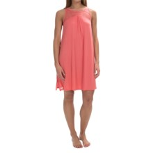 Midnight by Carole Hochman Poppy Nightgown - Sleeveless (For Women) in Mango - Overstock