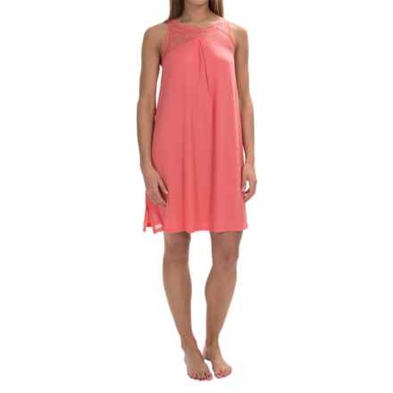 Midnight by Carole Hochman Poppy Nightgown - Sleeveless (For Women) in Mango - Overstock