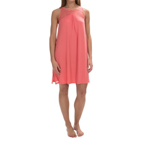 Midnight by Carole Hochman Poppy Nightgown Sleeveless (For Women)