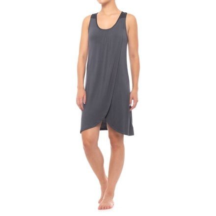 8d4423bf444d1 Midnight Racerback Nightgown - Sleeveless (For Women) in Dark Grey -  Closeouts