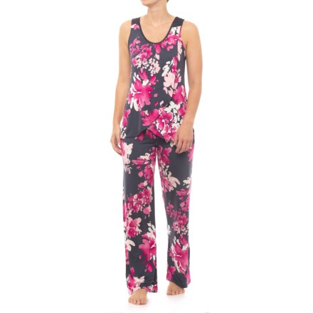 1caa4e38aa20 Midnight Racerback Pajamas - Sleeveless (For Women) in Bouquet - Closeouts