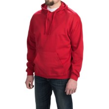 Midweight Hoodie Sweatshirt (For Men and Women) in Red - Closeouts