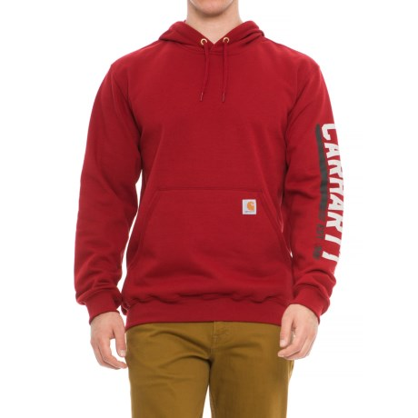 Midweight Original Workwear Graphic Hoodie (For Big and Tall Men)