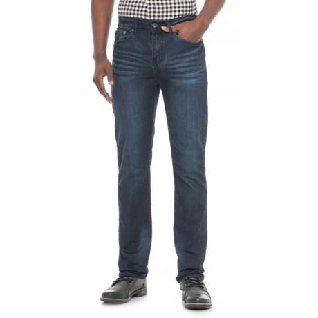 Mighty Healthy Basic Kiedis Wash Jeans - Slim Fit (For Men) in Dark Blue