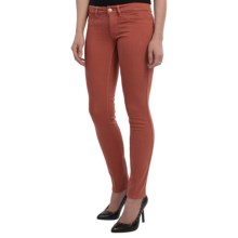 MiH Jeans The Vienna Skinny Jeans - Low Rise (For Women) in Clay - Closeouts