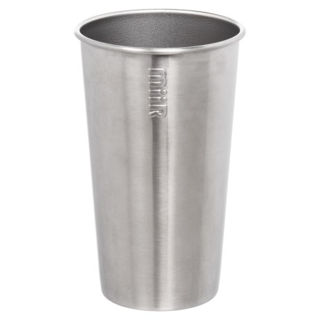 MiiR Single-Wall Pint Cup - 16 oz., Stainless Steel in Stainless