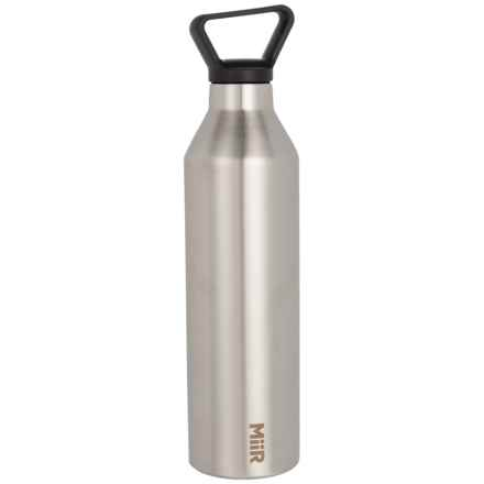 MiiR Stainless Steel Water Bottle - Vacuum Insulated, 23 oz. in Stainless Steel - Closeouts