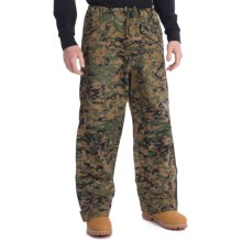 Military ECWCS Layering Pants (For Men and Women) in Woodland Digital Camo - Closeouts