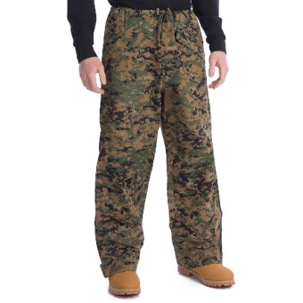 Military ECWCS Layering Pants (For Men and Women) in Woodland Digital Camo
