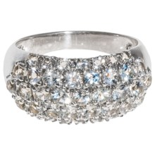 Millennium Creations Marquis White Topaz Ring - Sterling Silver in White Topaz - Closeouts