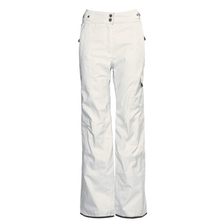 Millet Hakkoda Ski Pants - Waterproof, Insulated (For Women) in Lily White