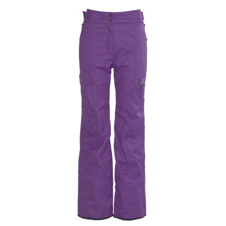 Millet Hakkoda Ski Pants - Waterproof, Insulated (For Women) in Meadow Violet