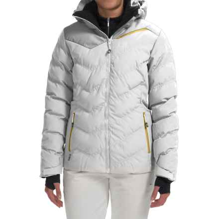 Millet Heiden Ski Jacket - Waterproof, Insulated (For Women) in Cloud Dancer - Closeouts