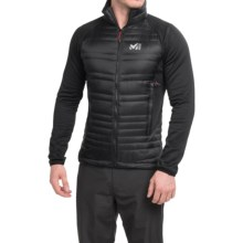Millet Hybrid Heel Lift Jacket - Insulated (For Men) in Black/Black - Closeouts