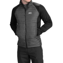Millet Hybrid Heel Lift Jacket - Insulated (For Men) in Heather Grey/Noir - Closeouts