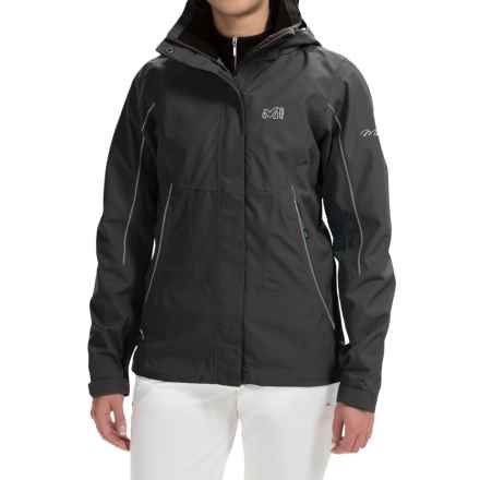Millet Jackson Peak Jacket - Waterproof (For Women) in Black - Noir - Closeouts