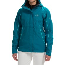 Millet Jackson Peak Jacket - Waterproof (For Women) in Deep Horizon - Closeouts