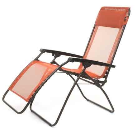 Latest Awesome Millet Lafuma R Clip Zero Gravity Recliner Chair In Potiron  Closeouts With Lit De Camp Lafuma With Liegestuhl Lafuma With Lafuma  Gartenliege