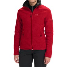 Millet LD Wilderness Fleece Jacket (For Women) in Rouge Carmin - Closeouts