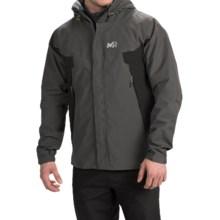 Millet Montets Gore-Tex® Jacket - Waterproof (For Men) in Castelrock/Black - Closeouts