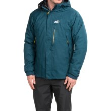 Millet Pobeda PrimaLoft® Jacket - 3-in-1, Waterproof, Insulated (For Men) in Heather Blue - Closeouts