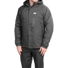 Millet Pobeda PrimaLoft® Jacket - 3-in-1, Waterproof, Insulated (For Men) in Heather Grey - Closeouts