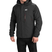 Millet Pobeda PrimaLoft® Jacket - 3-in-1, Waterproof, Insulated (For Men) in Noir/Heather Grey - Closeouts