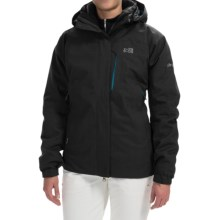Millet Pobeda PrimaLoft® Jacket - 3-in-1, Waterproof, Insulated (For Women) in Noir/Heather Blue - Closeouts