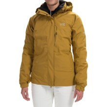 Millet Pobeda PrimaLoft® Jacket - 3-in-1, Waterproof, Insulated (For Women) in Tobacco - Closeouts