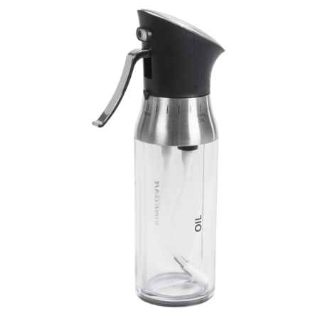Mimo Style 2-in-1 Olive Oil and Vinegar Adjustable Dual Sprayer in Clear/Stainless - Closeouts