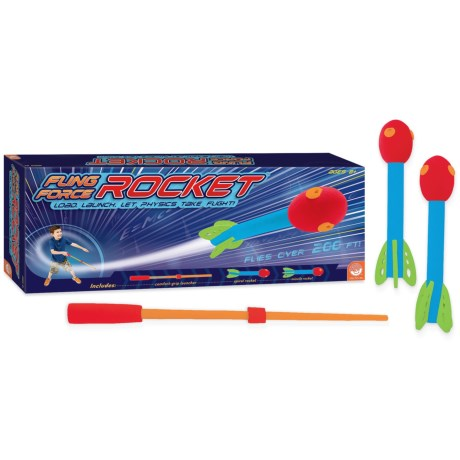 MindWare Games Fling Force Rocket in See Photo