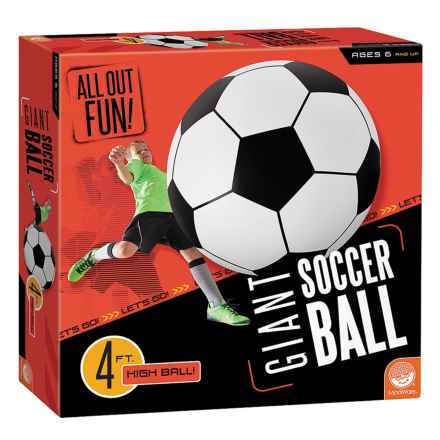 Mindware Games Giant Soccer Ball in See Photo - Closeouts