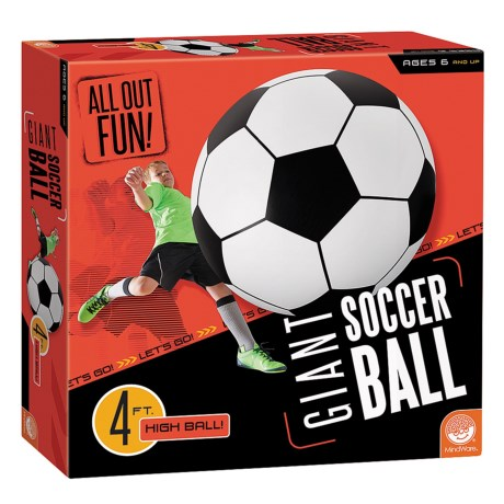 Mindware Games Giant Soccer Ball in See Photo