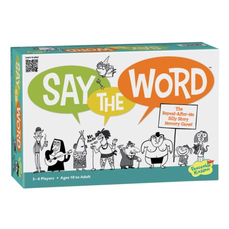 MindWare Games Say The Word in See Photo