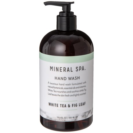 Mineral Spa White Tea And Fig Leaf Hand Wash 16 9 Oz In