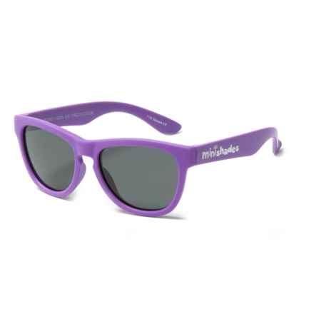 Mini Shades Classic Sunglasses - Polarized (For Kids) in Grape Jelly/Grey - Closeouts