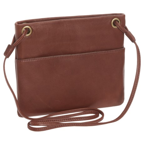 Image of Mini Square Leather Purse - Crossbody (For Women)