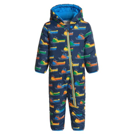 Mini Winter Puffer Snowsuit - Insulated (For Infants and Toddlers) (Girls) photo