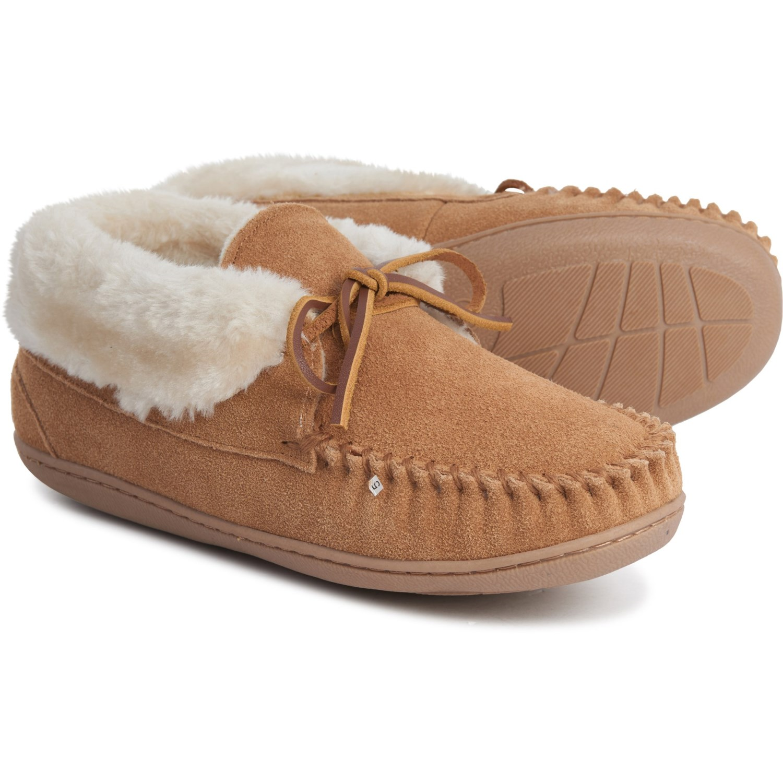 growth Pole Arthur  Minnetonka Moccasin Judy Junior Bootie Slippers (For Women) - Save 40%