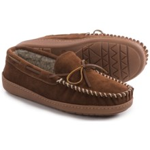 Minnetonka Tyson Traditional Trapper Moccasins (For Men) in Whiskey - Closeouts