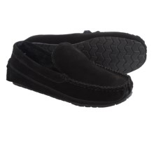 Minnetonka Vaughn Venetian Moccasins (For Men) in Black - Closeouts